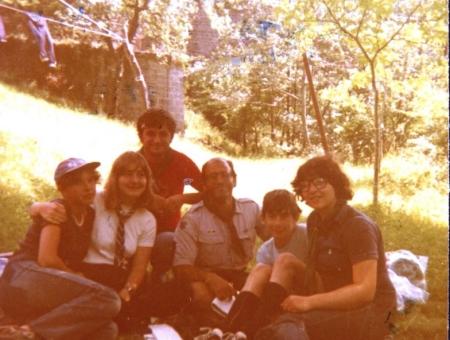 Noviziato Uragano – 29 luglio 1980 (Pontestrambo PR) serata di Promessa…