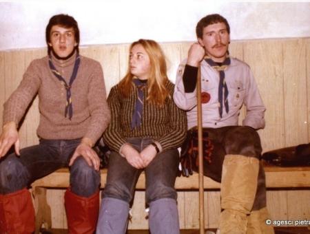 Staff Reparto fine anni 70