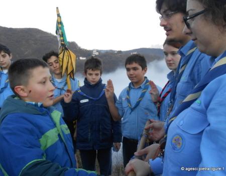 Campo Invernale 2013 a Clavarezza