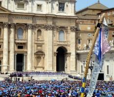 Udienza dal Papa – Roma (giu-2015)