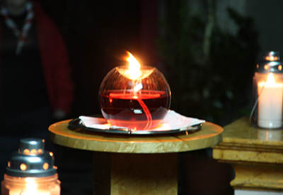 Luce di Betlemme 2015
